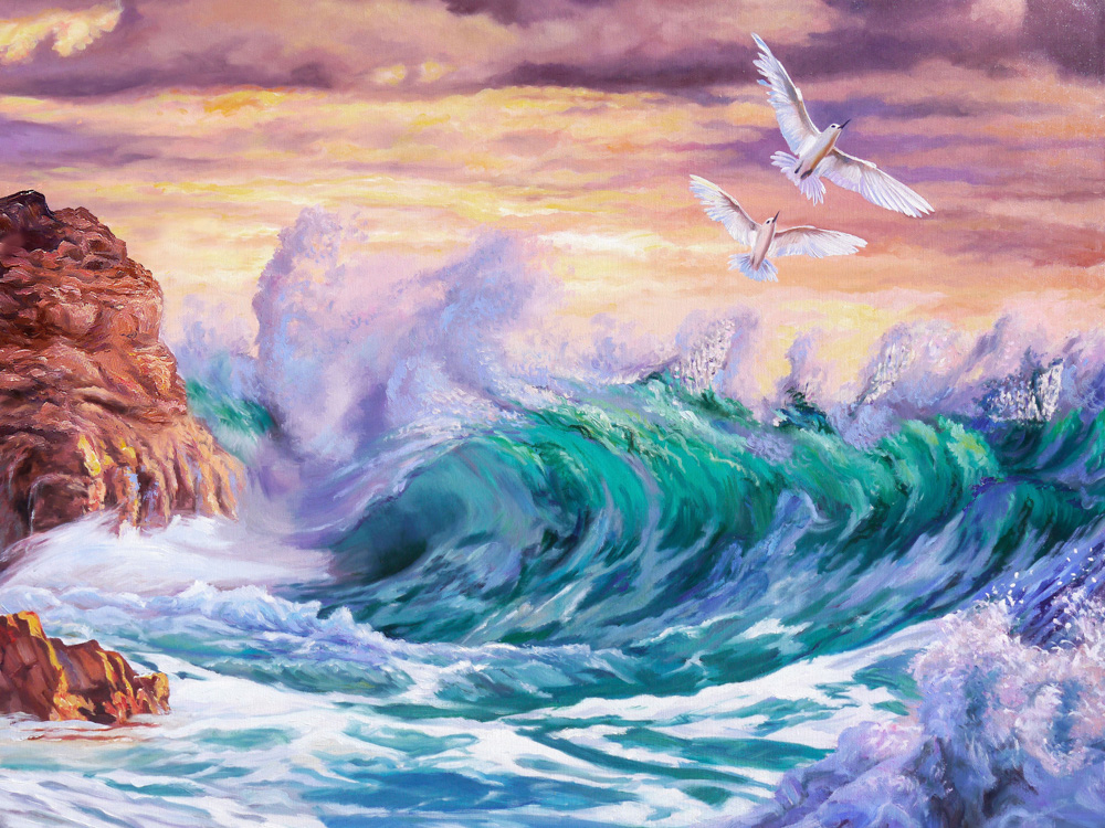Самарская Елена   Изумрудная волна