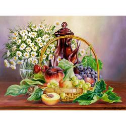 Самарская Елена | Про фрукты в корзинке