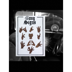 Gang Signs | Признаки банды | AYU