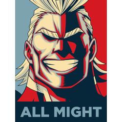 My Hero Academia: All Might (Коллекция постеров) | Моя геройская академия: Всемогущий