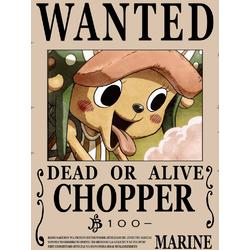 One Piece (Коллекция постеров №3) - Wanted | Ван-Пис: Тони Тони Чоппер