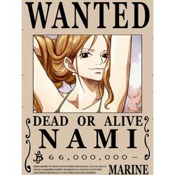 One Piece (Коллекция постеров №3) - Wanted | Ван-Пис: Нами