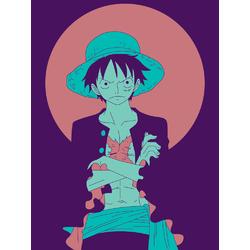 One Piece (Коллекция постеров №1) | Ван-Пис: Луффи