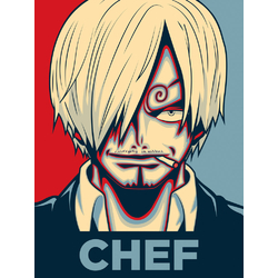 One Piece (Коллекция постеров №2) | Ван-Пис: Винсмок Санджи