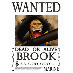 One Piece - Wanted   Ван-Пис: Брук