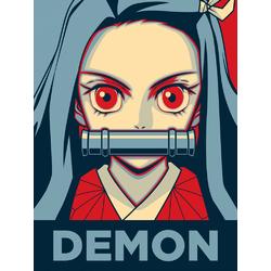 Demon Slayer (Коллекция Постеров №2) | Клинок, рассекающий демонов: Незуко Камадо
