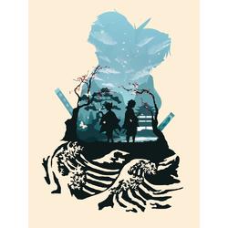 Demon Slayer (Коллекция постеров №1) | Клинок, рассекающий демонов
