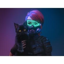 Futuristic Cat | Футуристичный Кот