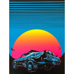 Synthwave Car | Синтвейв машина