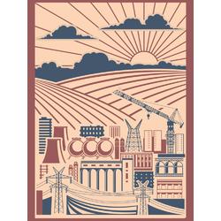 City (Коллекция постеров) | Город №2
