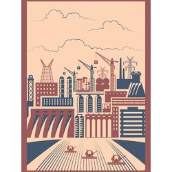 City (Коллекция постеров) | Город №3
