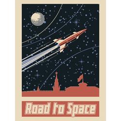 Space (Коллекция постеров) | Космос №1: Road to Space