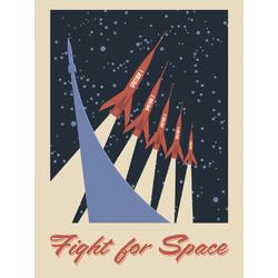 Space (Коллекция постеров) | Космос №2: Fight for Space