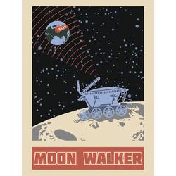 Space (Коллекция постеров) | Космос №4: Moon walker