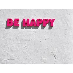 Motivation: Be Happy | Надпись: Будь счастлив