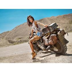 Girl: Motocycle | Девушка на мотоцикле