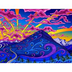 Psychedelic | Психоделический пейзаж