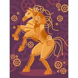 Steampunk: Horse | Стимпанк: Лошадь