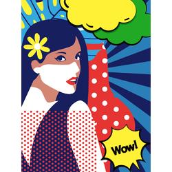 Girl: Pop Art | Девушка: Поп Арт