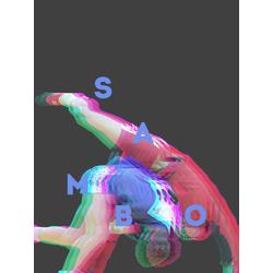 3D Poster | 3Д Постер | Sambo