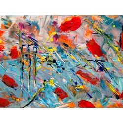 Abstraction   Абстракция   Краска