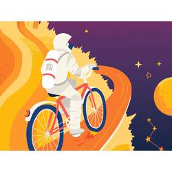 Cycles | Велосипед космос