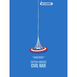 Minimalism | Минимализм: Captain America