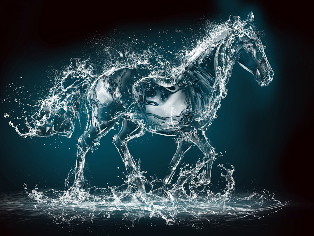 3D Poster | 3Д Постер | Лошадь