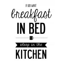 Home, sweet home | Breakfast in Bed