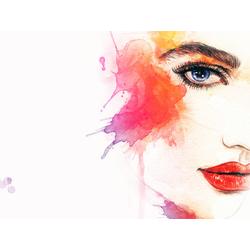 Aquarelle | Акварель: Девушка
