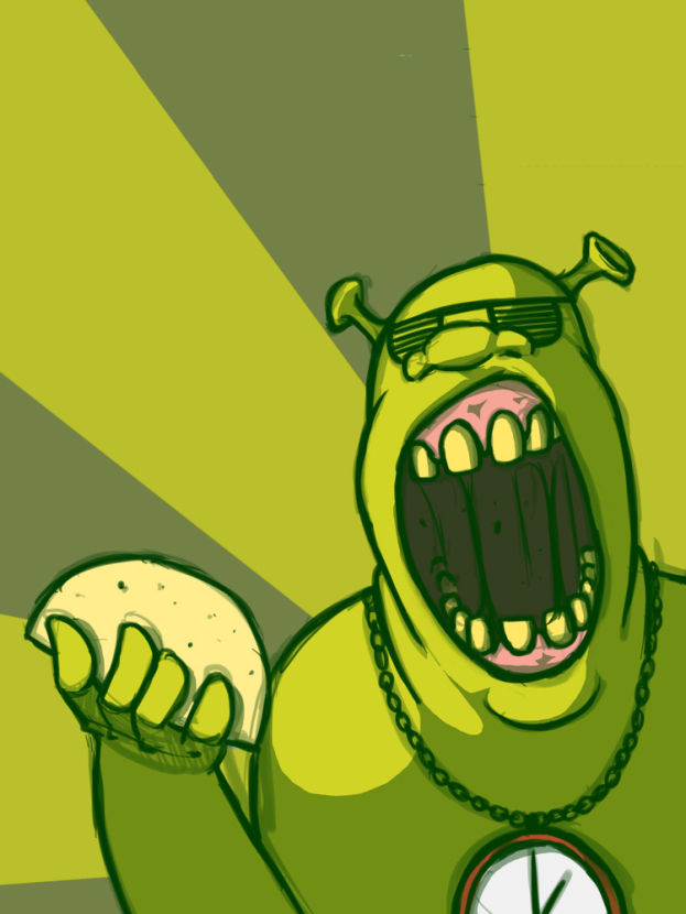Shrek Art   Шрек Арт