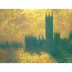Monet Claude | Лондонский Парламент в Тумане