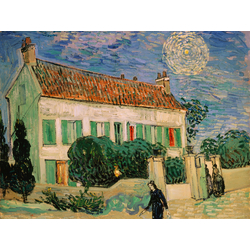 Van Gogh | Ван Гог | Bialy Dom W Nocy