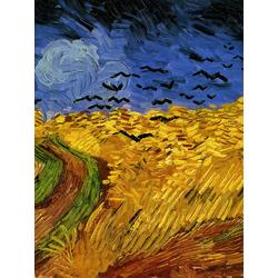 Van Gogh - Сampo de Trigo Com Corvos | Ван Гог