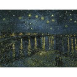 Van Gogh | Ван Гог - Звездная ночь над Роной