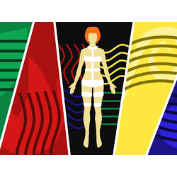 Abstract: Human & Colors | Абстракция: Человек и Краски