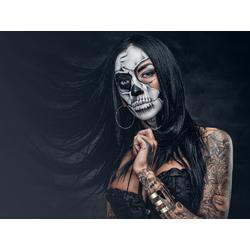 Girl: Dark Tattoo | Девушка: Черно-Белые Татуировки