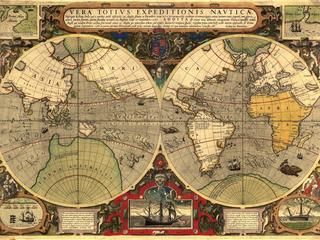 Категория постеров и плакатов Винтажные карты