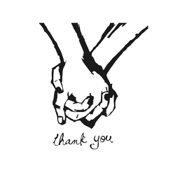 Minimal: thank you | Спасибо