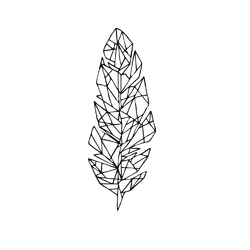 Minimal: feather | Перо