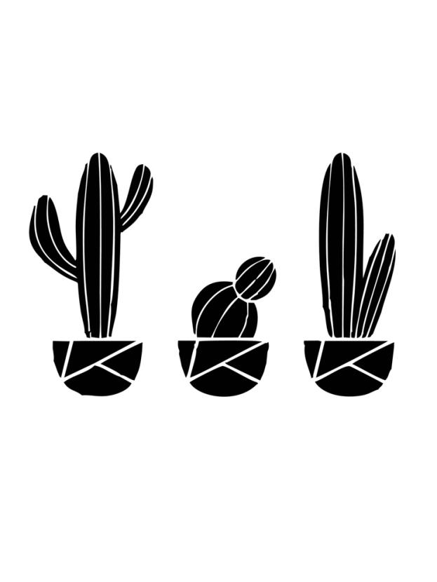 Minimal: cactus | Кактус