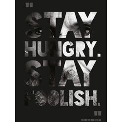 Steve Jobs - Stay Hungry. Stay Foolish. | Стив Джобс