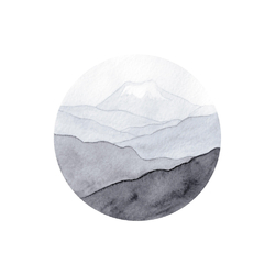 Aquarelle | Акварель: Горы