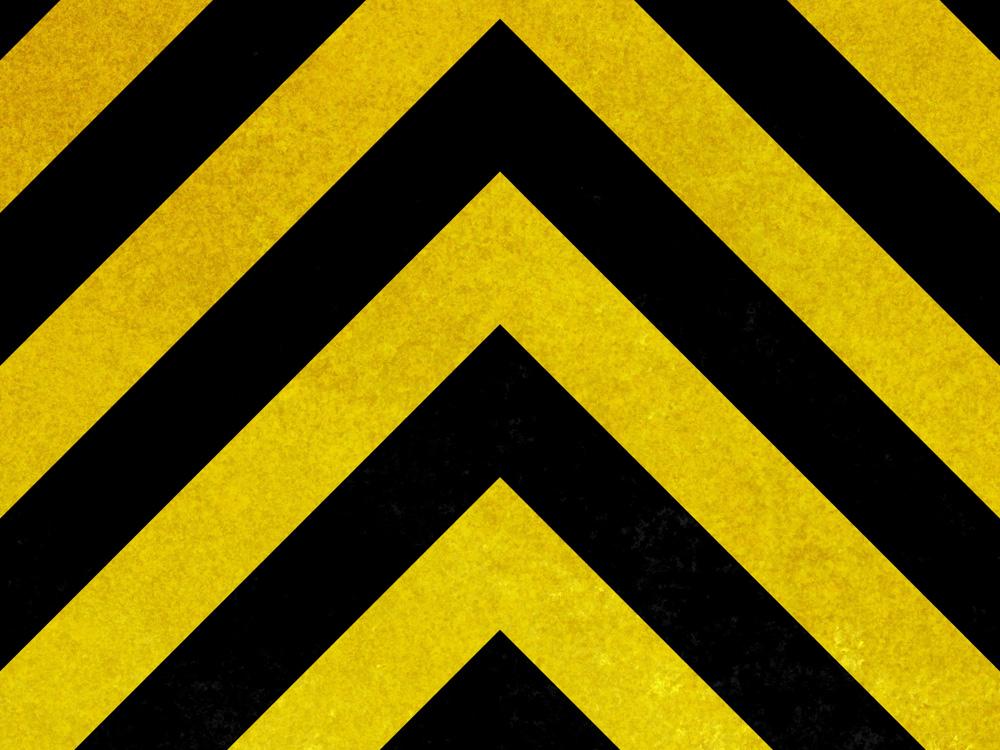 Abstraction black-yellow   Абстракция