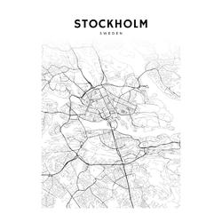 Map Stockholm | Карта Стокгольма