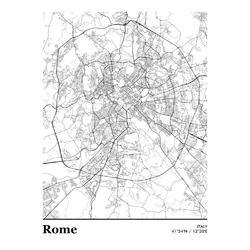 Map Rome | Карта Рима