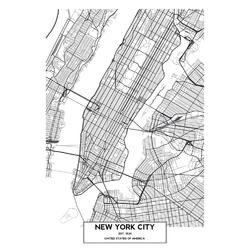 Map New York | Карта Нью-Йорка