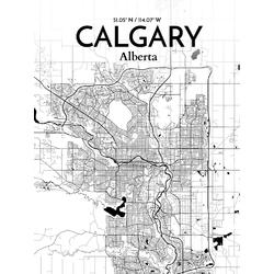 Map Galgary | Карта Калгари