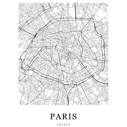 Map Paris | Карта Парижа