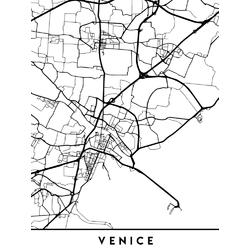 Map Venice | Карта Венеции